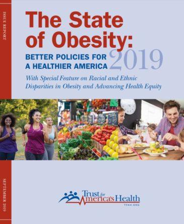 TFAH obesity report 2019